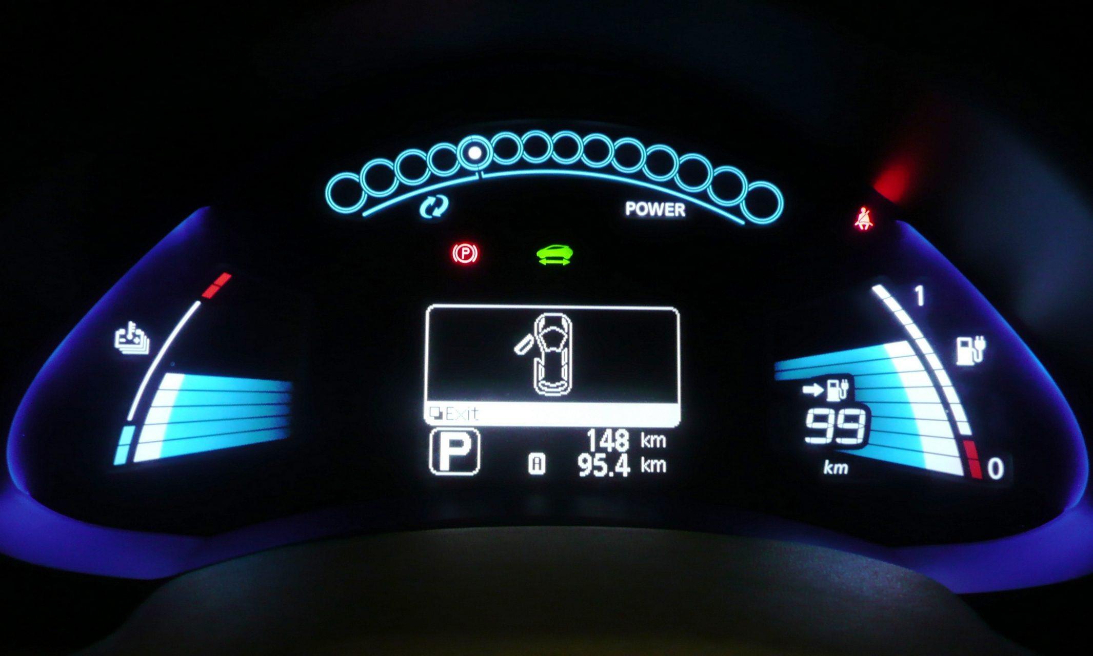 Nissan Leaf Dashboard Display