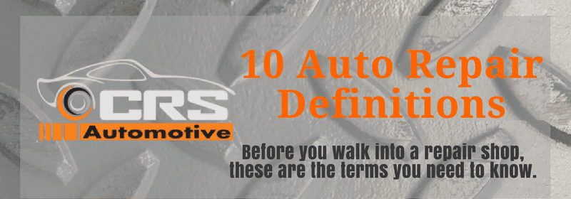 10 Auto Repair Definitions FEATURED