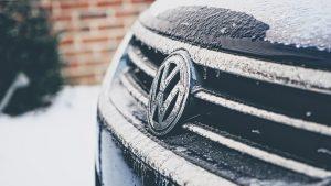 frozen volkswagon front