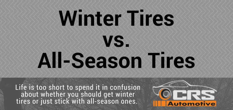 winter tires vs all season tires crs automotive. Black Bedroom Furniture Sets. Home Design Ideas