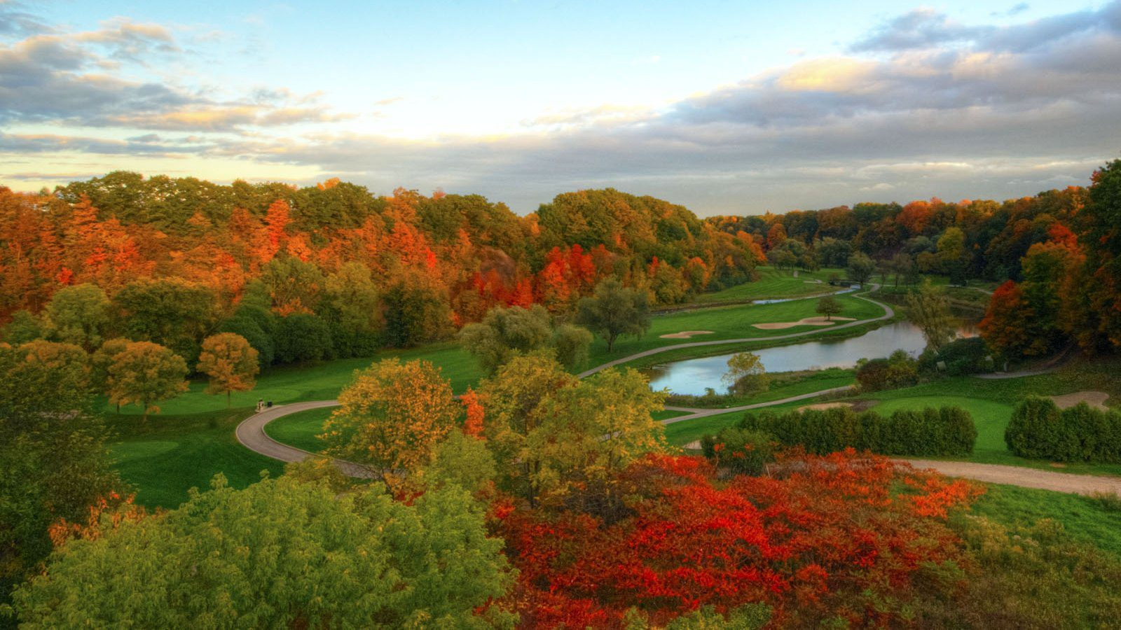 fall over glen abbey