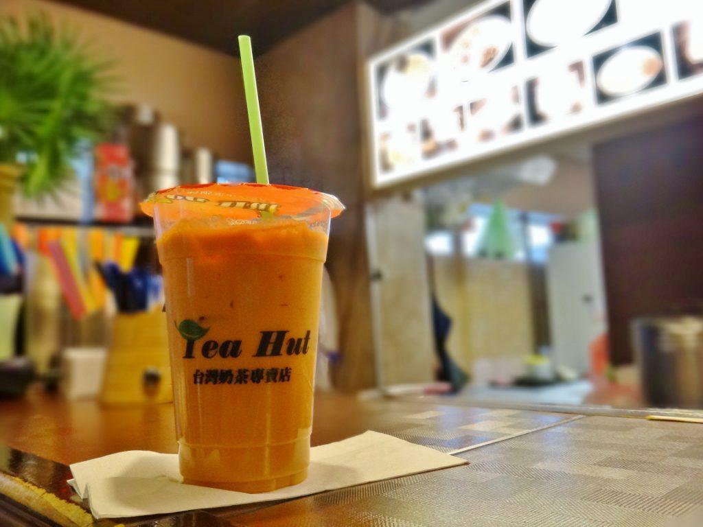 tea hut orange