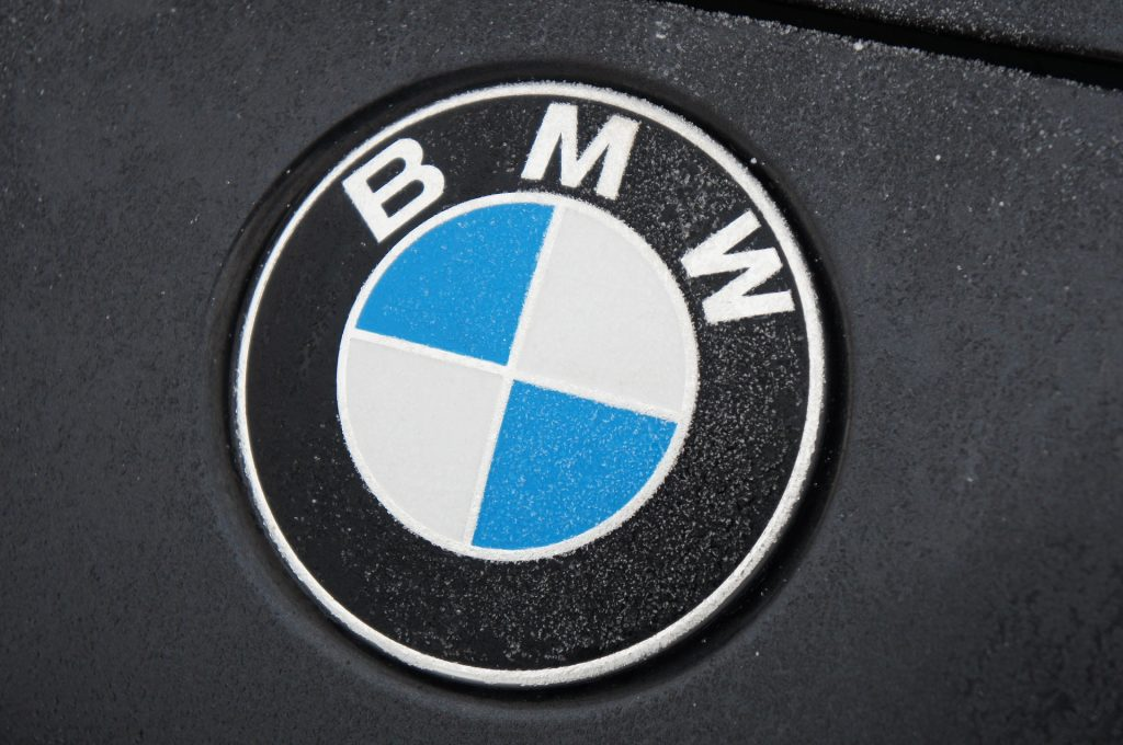 bmw frozen