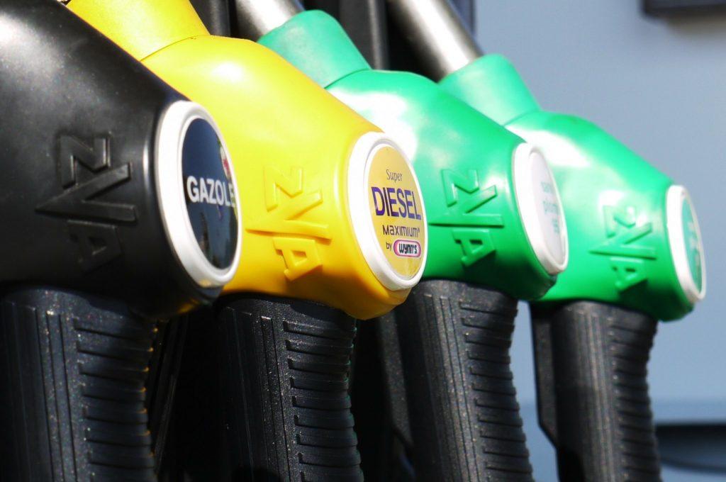 diesel or gas station