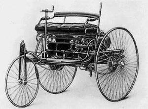 benz first horseless carriage