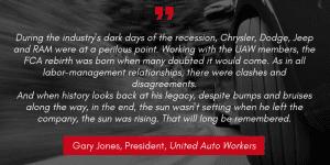 Gary Jones quote