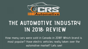 The Automotive Industry In 2018 FEATURED