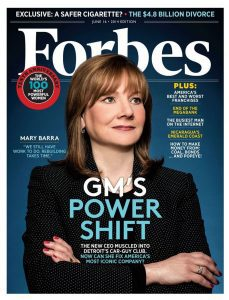 mary barra 2014 forbes cover