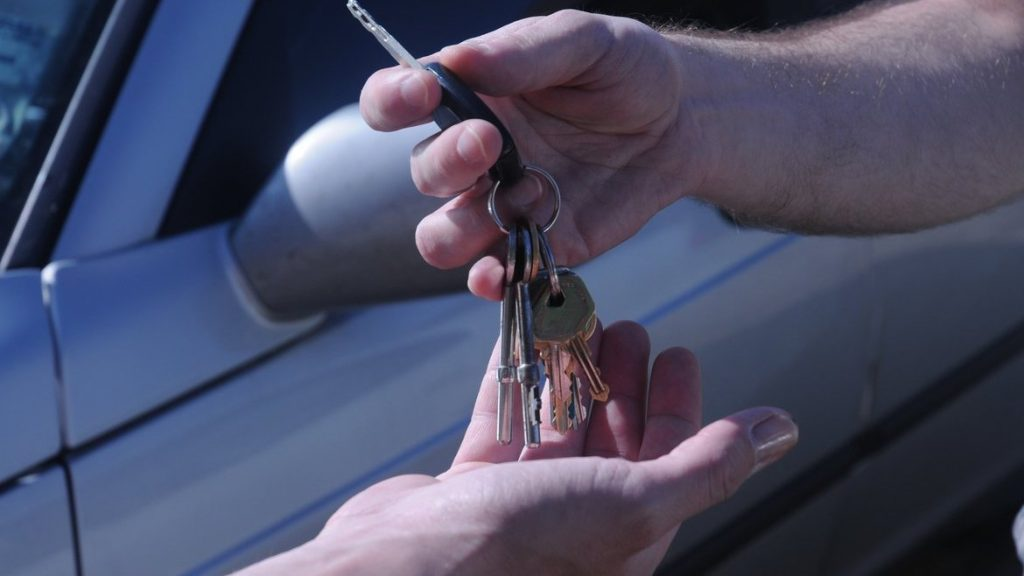 buying a car keys