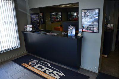 CRS Automotive Hamilton auto shop repair reception