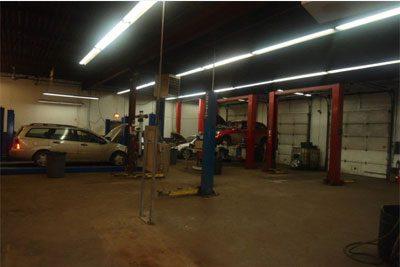 CRS Automotive Hamilton auto shop repair service area