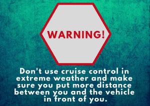 cruise control skidding