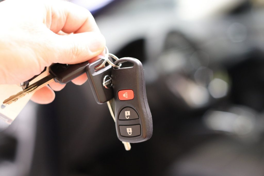 car buying car dealer car keys
