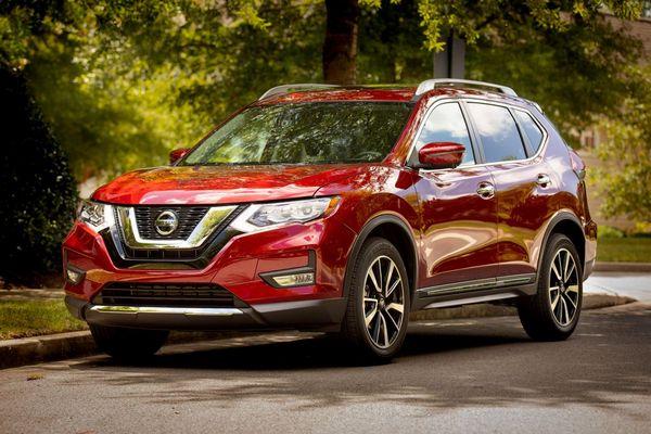 8. Nissan Rogue Hybrid