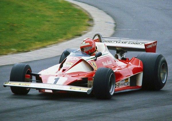 Niki Lauda Ferrari312T2