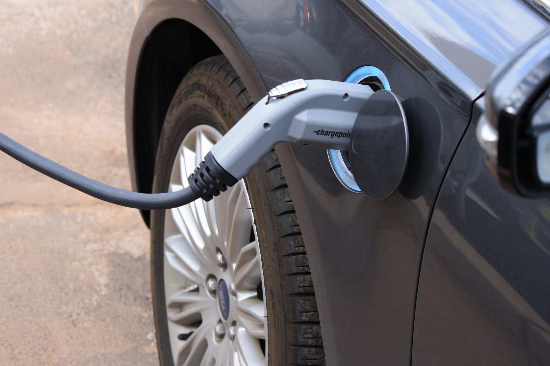 electric car charging fire